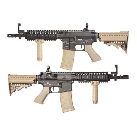 King Arms TWS M4 VIS CQB 電動ガン デザートカラー サバゲー,サバイバルゲーム,ミリタリー