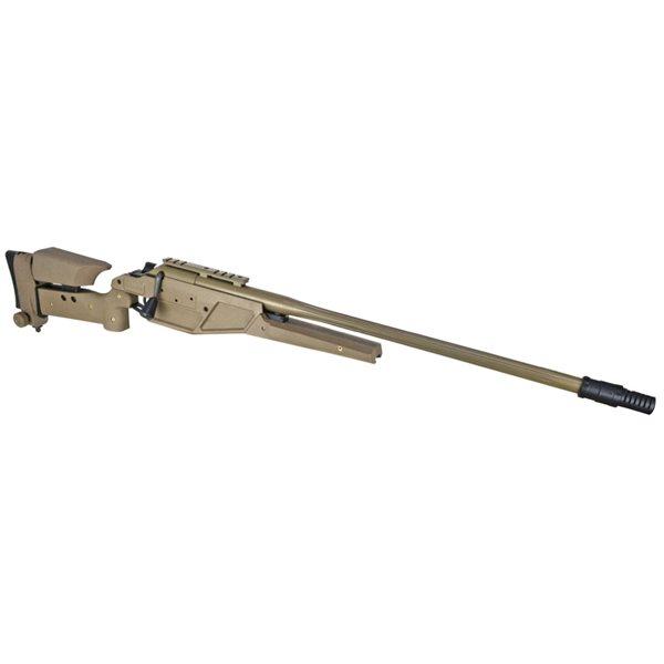 King Arms K93 (Blaser R93 LRS1) エアコッキング ボルトアクションライフル デザートカラー