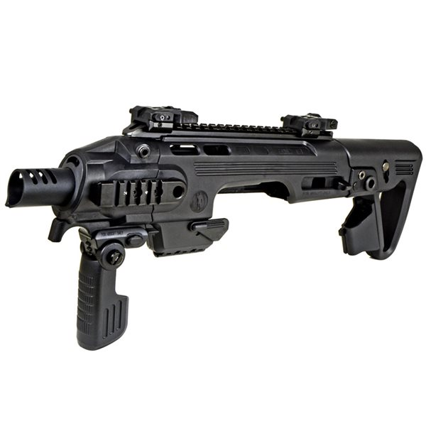 King Arms / CAA AIRSOFT RONI G1 グロック カービンキット ブラック サバゲー,サバイバルゲーム,ミリタリー