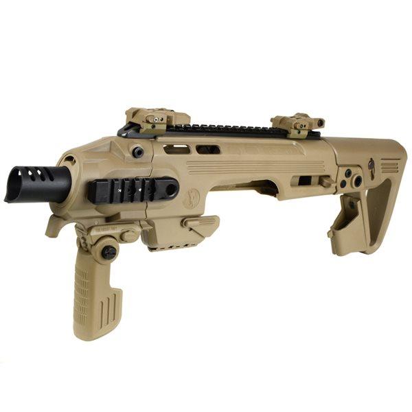 King Arms / CAA AIRSOFT RONI G1 グロック カービンキット デザートカラー サバゲー,サバイバルゲーム,ミリタリー