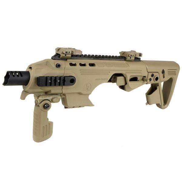 年末年始★サバゲ応援フェア♪ King Arms / CAA AIRSOFT RONI ベレッタ M9/92F カービンキット デザートカラー サバゲー,サバイバルゲーム,ミリタリー