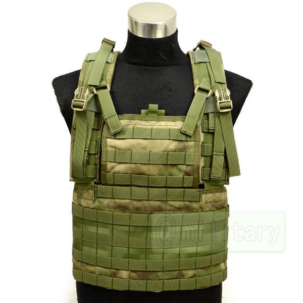 FLYYE Molle RRV Vest A-TACS FG 【A-TACS森林ver】 サバゲー,サバイバルゲーム,ミリタリー