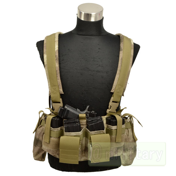 FLYYE LBT M4 Tactical Chest Vest A-TACS サバゲー,サバイバルゲーム,ミリタリー