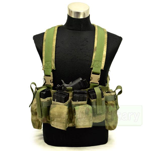 FLYYE LBT M4 Tactical Chest Vest A-TACS FG 【A-TACS森林ver】 サバゲー,サバイバルゲーム,ミリタリー