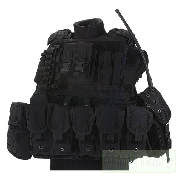 FLYYE RAV Vest with Pouch set BK サバゲー,サバイバルゲーム,ミリタリー