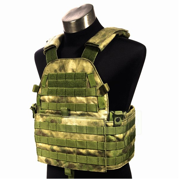 FLYYE MOLLE LT6094 Vest A-TACS FG 【A-TACS森林ver】 サバゲー,サバイバルゲーム,ミリタリー