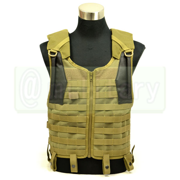 FLYYE Delta Tactical Mesh Vest with 3L Bladder KH サバゲー,サバイバルゲーム,ミリタリー