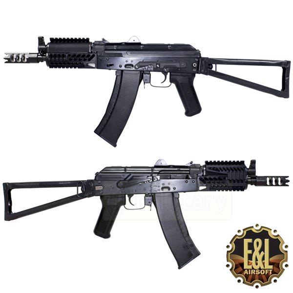 E&L AIRSOFT AKS-74UN タクティカル MOD C [ZENIT タイプ ハンドガード&ハイダー] サバゲー,サバイバルゲーム,ミリタリー