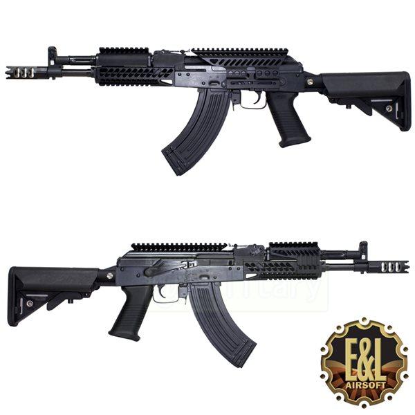E&L AIRSOFT AK-104 PMC-E [ZENIT タイプ レールシステム &ハイダー]
