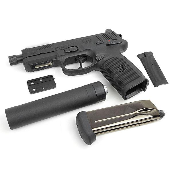 Cybergun FNX 45 Tactical GBB(BK)SET サバゲー,サバイバルゲーム,ミリタリー