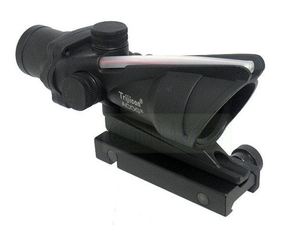 ACOG TA31 スタイル 4倍 コンバット スコープ BK サバゲー,サバイバルゲーム,ミリタリー