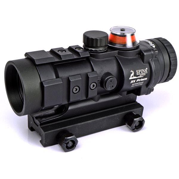 BURRIS AR-332タイプ 3倍 スコープ 集光チューブ発光タイプ [レッド発光] サバゲー,サバイバルゲーム,ミリタリー