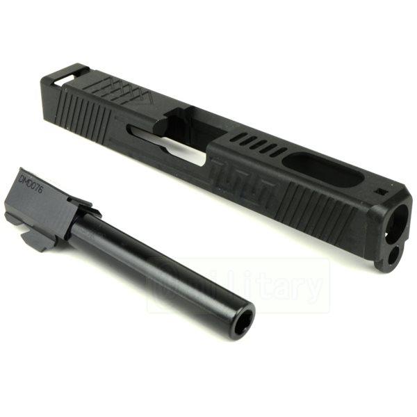 CNC スライド&バレルキット Type3 [グロック17用] ブラック