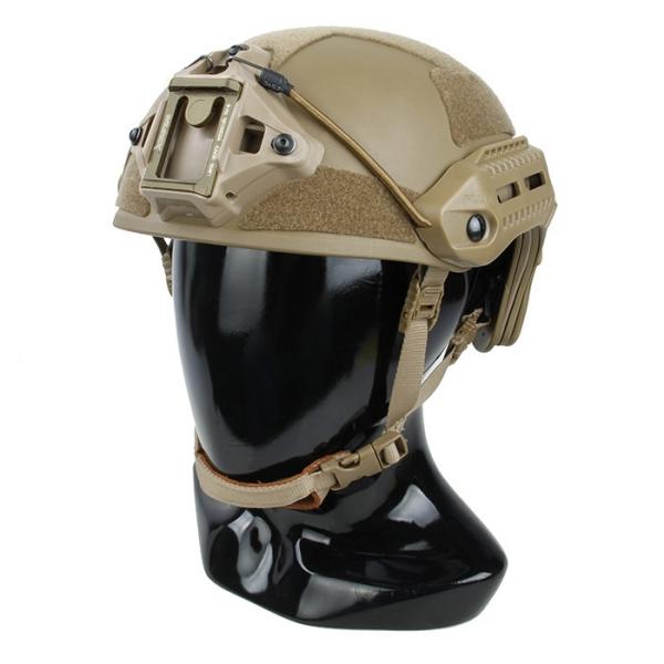 TMC MK [M-LOK対応レール装備] ヘルメット コヨーテブラウン サバゲー,サバイバルゲーム,ミリタリー