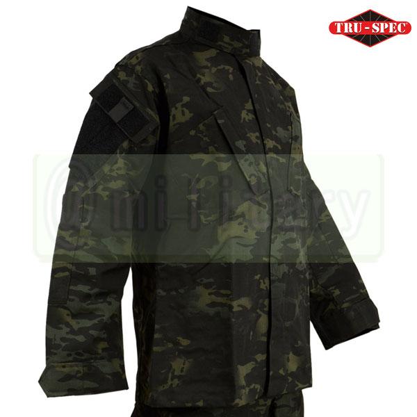 サバゲー★大感謝フェア★ TRU-SPEC Tactical Response Uniform シャツ マルチカムブラック サバゲー,サバイバルゲーム,ミリタリー