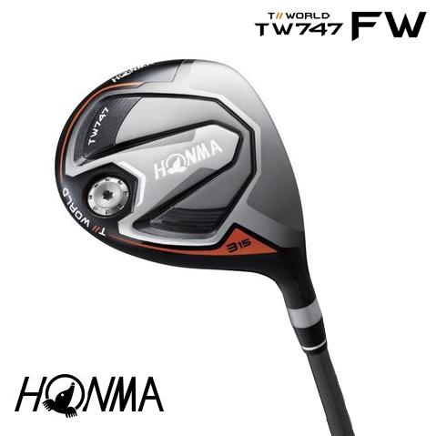本間ゴルフ HONMA ホンマ TOURWORLD ツアーワールド TW747-FW フェアウェイウッド VIZARD for TW747カーボンシャフト