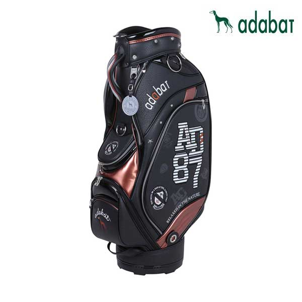 ゴルフ メンズ 男性用 キャディバッグ adabat アダバット ABC301 BK ブラック 黒 9.0型 4.1kg 47インチ対応 CB257