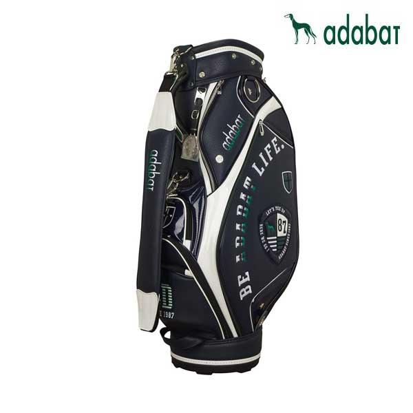 ゴルフ メンズ 男性用 キャディバッグ adabat アダバット ABC403 ネイビー 9.0型 4.2kg 47インチ対応 CB260