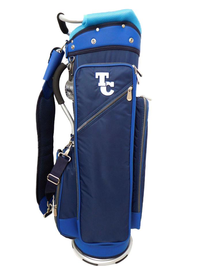 ゴルフ トランスコンチネンツ キャディバッグ TCCB-007 NVY(103) 9型/2.8kg/47インチ対応 CB207