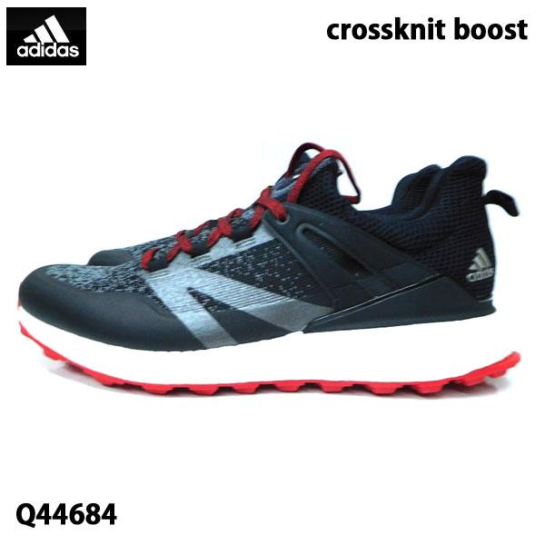 ゴルフシューズ メンズ 男性用/adidas アディダス/crossknit boost クロスニットブースト/Q44684/ SU099