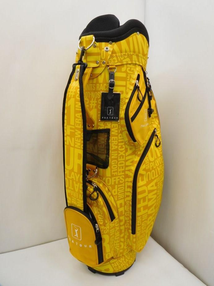 DAIYA ダイヤ ゴルフ キャディバッグ 8.5型 3.0kg CB-3071 イエロー 黄色 CB246