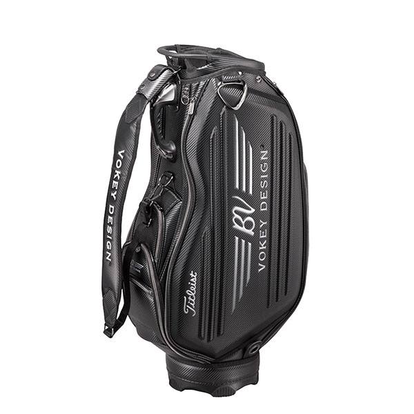 Titleist タイトリスト ゴルフ VOKEY DESIGN 限定キャディバッグ CB8VW 9.5型(47インチ対応)黒 ブラック