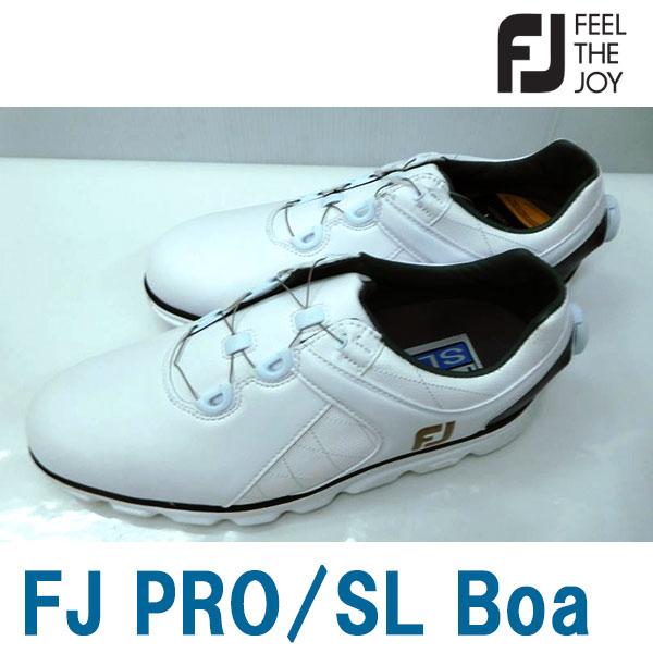 Footjoy フットジョイ 男性用 メンズ ゴルフ シューズ FJ PRO/SL Boa #56846 SU074
