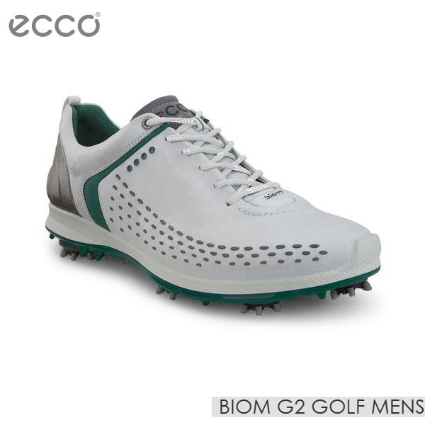 2019特集 【 Golf ecco GREEN/エコー Mens】ゴルフ メンズ シューズ 男性用 BIOM G2 Golf Mens 130614-57875 WHITE/PURE GREEN SU009【TP】, レハイムジュエリー:d14bddfc --- business.personalco5.dominiotemporario.com