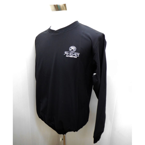 【アヘッド/AHEAD 】ゴルフウェア 秋冬 メンズウエア AHEAD 長袖プルオーバー EX25XS-1 BLACK ブラック XS:AWM92【TP】