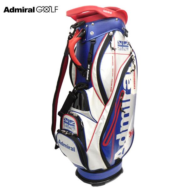 【ADMIRAL GOLF/アドミラルゴルフ】ゴルフ 軽量キャディバッグ 9型 ADMG7SC3 トリコロール(90) CB137【TP】