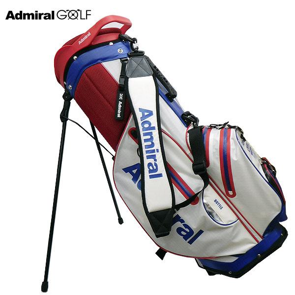 【ADMIRAL GOLF/アドミラルゴルフ】ゴルフ 軽量スタンドキャディバッグ 9型 ADMG7SC4 トリコロール(90) CB139【TP】