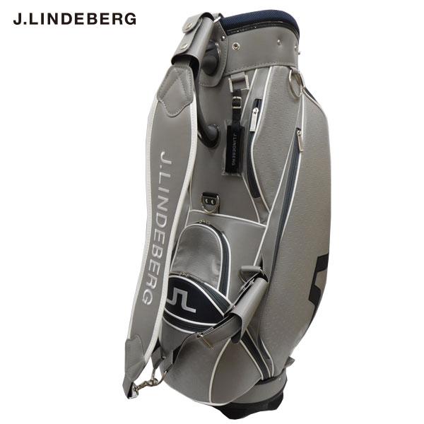 【J.LINDEBERG/ジェイ・リンドバーグ】ゴルフ キャディバッグ 9型 JL-009 GRY/NVY(825) グレー CB149【TP】