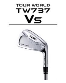本間ゴルフ HONMA ホンマ TOURWORLD ツアーワールド TW737 Vs アイアン Dynamic Gold スチールシャフト 6本組(#5~#10)【TP】
