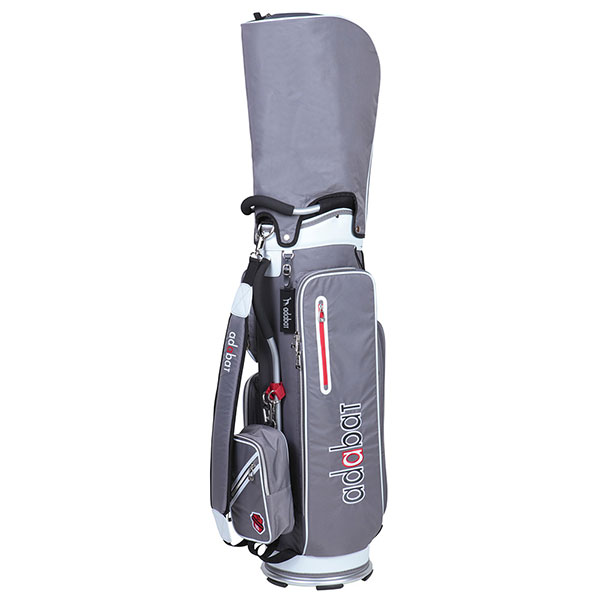 ゴルフ メンズ 男性用 軽量キャディバッグ adabat アダバット ABC307 9.0型 2.5kg チャコールCB240