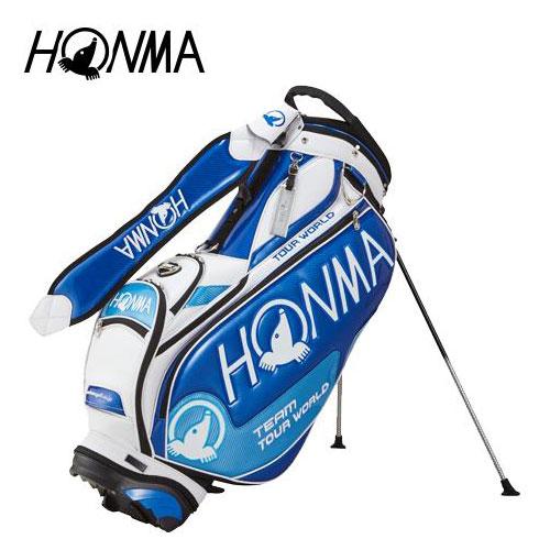 【オンラインショップ】 ゴルフ メンズ キャディバッグ 本間ゴルフ HONMA ゴルフ ホンマゴルフ 9型 2018年トーナメントプロモデル ホンマゴルフ スタンドバッグ CB-1802 ブルー 青 9型, イセシ:4492cbb4 --- konecti.dominiotemporario.com