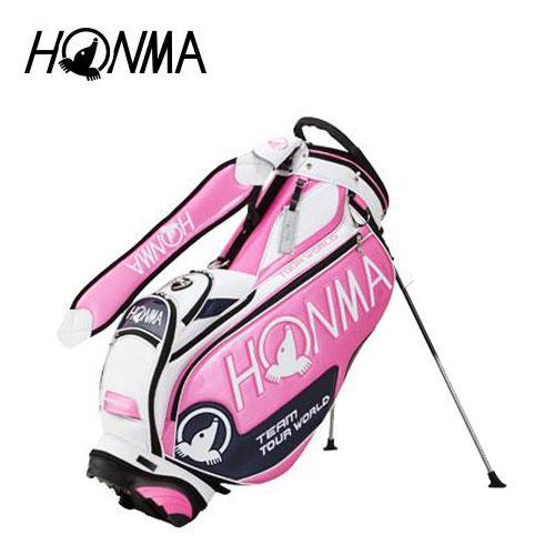 公式サイト ゴルフ メンズ キャディバッグ メンズ 本間ゴルフ HONMA ホンマゴルフ 2018年トーナメントプロモデル CB-1802 スタンドバッグ キャディバッグ CB-1802 ピンク 9型, アクショントゥールズ:2e53245c --- clftranspo.dominiotemporario.com