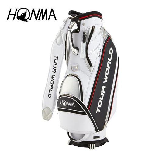 大勧め ゴルフ 9型 メンズ キャディバッグ 本間ゴルフ HONMA ホンマゴルフ HONMA ホワイト TOUR WORLD キャディバッグ CB-1807 ホワイト 白 9型, ココイル:56428e04 --- canoncity.azurewebsites.net