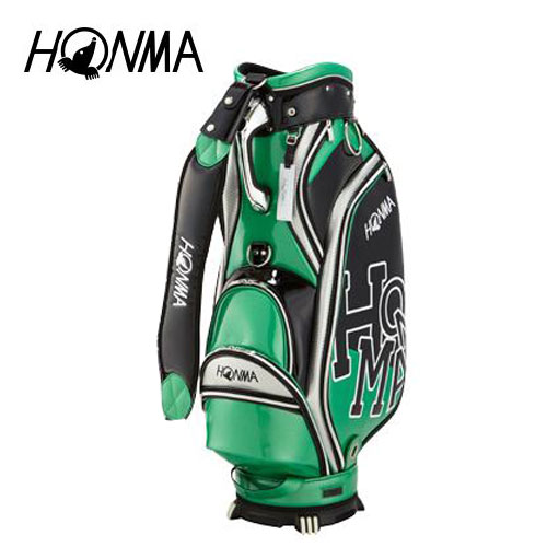 ゴルフ メンズ キャディバッグ 本間ゴルフ HONMA ホンマゴルフ Dancing HONMA キャディバッグ CB-1808 グリーン 緑 9型