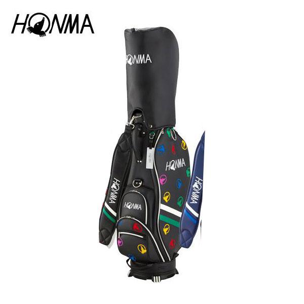 ゴルフ メンズ キャディバッグ 本間ゴルフ HONMA ホンマゴルフ モグラランダム キャディバッグ CB-1816 ブラック 黒 8.5型