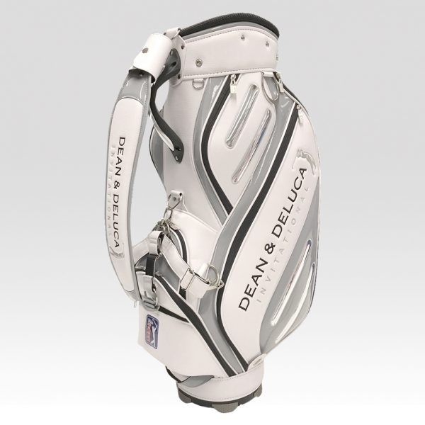 ゴルフ メンズ 男性用 キャディバッグ DAIYA ダイヤ US PGA TOUR DEAN & DELUCA Invitational CB-3068 グレー 9型