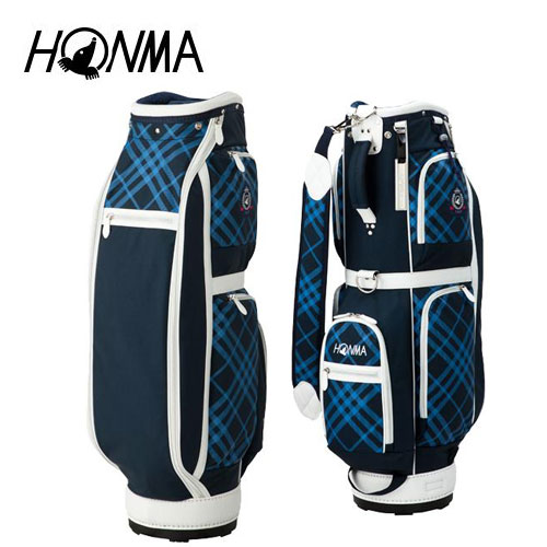 ゴルフ レディース レディス 女性用 キャディバッグ 本間ゴルフ HONMA ホンマゴルフ CB-6703 ネイビー 8.5型