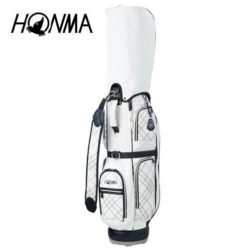 ゴルフ レディース レディス 女性用 キャディバッグ 本間ゴルフ HONMA ホンマゴルフ CB-6703 ホワイト 白 8.5型