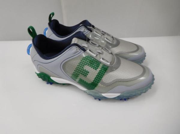 ゴルフ シューズ 靴 メンズ 男性用 フットジョイ Footjoy フリースタイル 57338J グレー×グリーン SU021