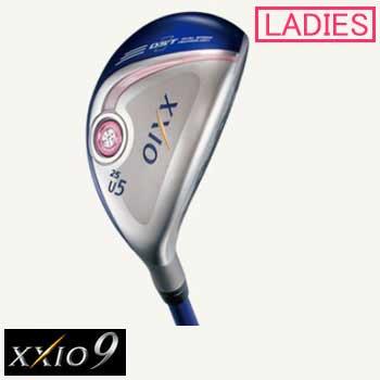DUNLOP/ダンロップ XXIO9 女性用 ユーティリティ MP900Lカーボンシャフト 日本正規品(U4/U5/U6/U7) フレックス(R/A/L)