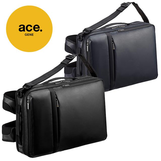 エース エースジーン 3WAYバックパック リュック ビジネスバッグ キャリーケース スーツケース セットアップ可 ビジネスリュック ガジェタブル WR 55544 / ace. gene GADGETABLE-WR 送料無料 代引き手数料無料 ブラック ネイビー 3WAY リュック 2気室 14L