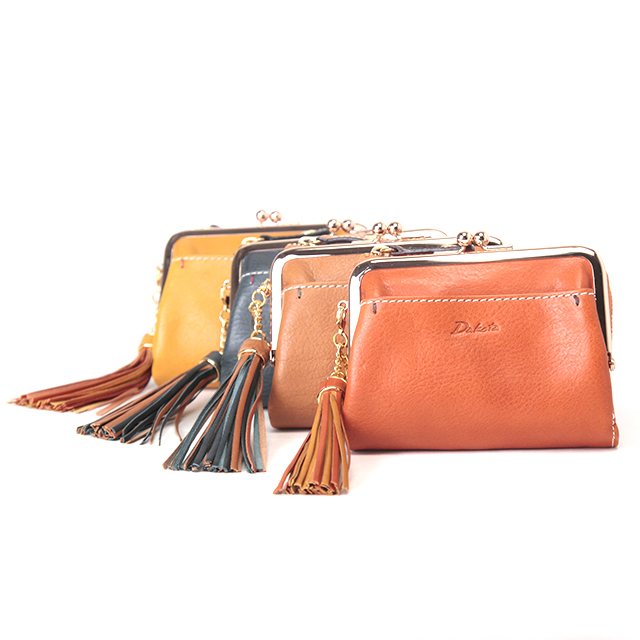 ダコタ 二つ折り財布 がま口 0035180 アプローズ イタリア製牛革 / Dakota Applause イタリアンレザー 母の日