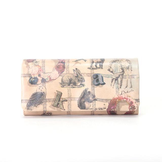 ダコタ チーザレ 長財布 / Dakota Cesare 0036141 ポイント10倍 牛革 アニマル カジュアル 女性 母の日 プレゼント
