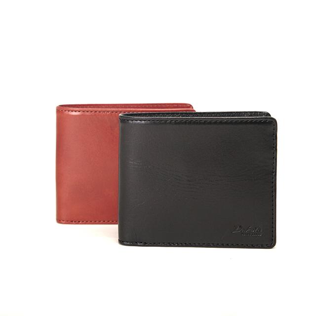 二つ折り財布 小銭入れあり メーディオ ダコタ ブラックレーベル / Dakota Black Label 0626700 ポイント10倍 イタリア製牛革