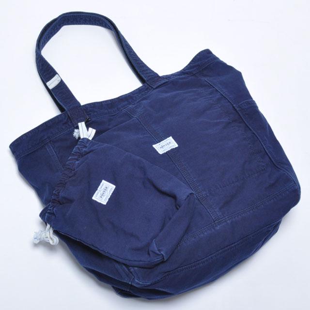 吉田カバン ポーター ディープブルー トートバッグ / PORTER DEEP BLUE 630-06443 ポイント10倍 送料無料