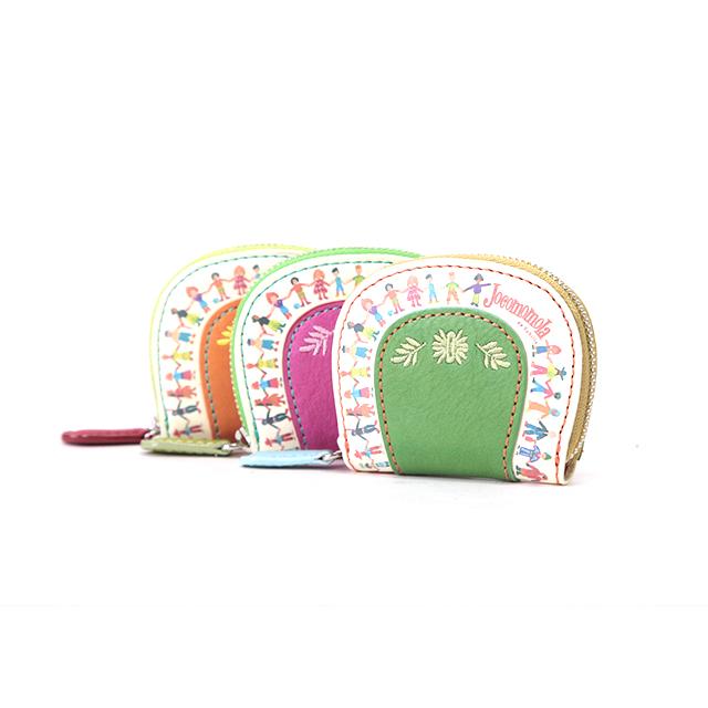 ホコモモラ デ シビラ プラネタ 小銭入れ コインケース 5381605 ピンク オレンジ グリーン ブルー Jocomomola de Sybilla スペイン planeta 馬蹄型 母の日 プレゼント ギフト